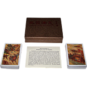 """Double Deck China """"Romance of the Three Kingdoms"""" Playing Cards, Maker Unknown"""