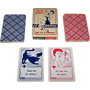 "Grimaud ""La Grivoise"" Card Game, c.1940-1960"