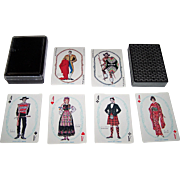 "Nintendo ""Onward"" Playing Cards, Kashiyama Co. Designs, c.1968"