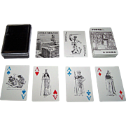 "Nintendo ""Takeda Pharmaceuticals"" Playing Cards, Ltd. Ed. (___/3500), c.1978"