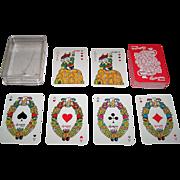 """Czech Republic Non-Standard """"Budweiser Budvar"""" Advertising Playing Cards, Maker Unknown"""