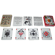 "Grimaud ""Zodiaque"" Playing Cards, Youdi des Aubrys Designs, c.1980"