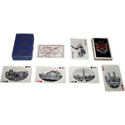 """Canadian Playing Card Company """"Souvenir Playing Cards: Montreal and Quebec,"""" c.1920"""
