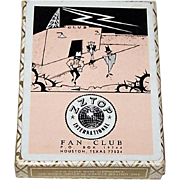 "USPC ""ZZ Top International Fan Club"" Playing Cards, c.1983"