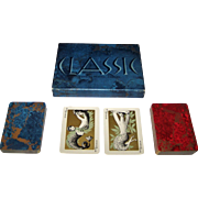 """Double Deck Fournier """"Classic"""" Playing Cards, Paul Mathison Designs, c.1959"""