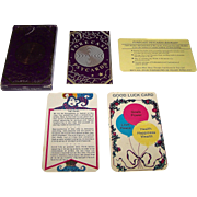 "Barkay Enterprises, Inc. ""Forecast Psycards"" Fortune Telling Cards, c.1982"