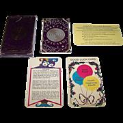 "Barkay Enterprises, Inc. ""Forecast Psycards"" Fortune Telling Cards, c.1982"