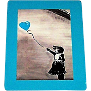 "American Cancer Society ""There Is Always Hope"" Playing Cards, Banksy Inspired, Jana Jean Artist"
