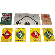 "Ed-U-Cards ""Baseball Card Game,"" Made in Canada, c.1957"