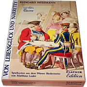 "Piatnik ""Von Lebensglück und Narretey"" Playing Cards [2 Facsimile Editions of Decks Published 1826 by J.G. Uffenheimer and 1832 by Max Uffenheimer, 1823/24 Designs by Matthäus Loder], c.1987"