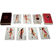 Van Genechten Pin-Up Playing Cards, WERMA Advertising, Heinrich Schwartz Designs, c.1955