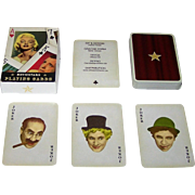 "Offason AB ""Moviestars"" Playing Cards, Joakim Thedin Concept and Designs, c.1990s"