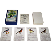"Merrimack ""Our Bird Friends"" Card Game, Facsimile of 1901 Sarah Dudley Game, c.1970s"