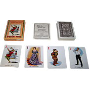 "Merrimack ""Peter Pan"" Card Game, ""Merrimack Version"" of 1912 Gibson and De la Rue Original, c.1980"