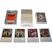 "Merrimack ""The Shakespeare Game"" Card Game, Facsimile of 1901 Cincinnati Game Co. Game, c.1970s"