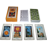 "Grimaud ""Grand Etteilla"" Tarot Cards, c.1977"