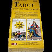 "USGS ""Tarot Fortune Telling Game"" w/ Muller ""IJJ"" Tarot Cards, c.1970"