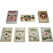 "Dondorf ""Schweitzer Trachten"" (""Swiss Costumes"") Playing Cards, Dondorf No. 174, c. 1900"