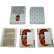 "Grimaud ""Jeu de Cartes du XVII Siecle"" Playing Cards, Facsimile 1660 Jaques Vieuil (Vievil?) Deck, c. 1977"