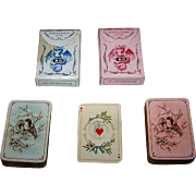 "Twin Decks Dondorf ""Baronesse"" Patience Playing Cards No. 163, c.1880's, $20/ea."