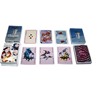 "2 Non-Standard Decks Denmark Playing Cards, $15/ea.: (i) Lamberth ""Skagen Artists""; (ii) Sostrene Grenes ""Anna & Clara"""