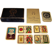 """W.A. Spiering """"Verima"""" Fortune Telling Cards, Evert Zeeven Publisher and Designer, c.1950"""