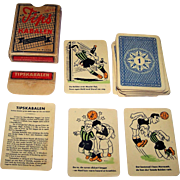 "Handa ""Tips Kabalen"" Card Game, Danish Football (Soccer) Pools, c.1950s"