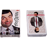 "Nelostuote OY (Finland) ""Mr. Bean"" Playing Cards, Rowan Atkinson Photographs, c. 1990s"