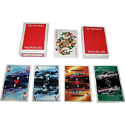 "Louwman & Parqui b.v. (Netherlands) ""Toyota"" Advertising Playing Cards, Maker Unknown"