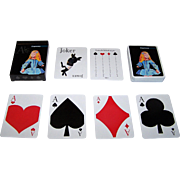 "Expresso (Portugal) ""Alice"" Playing Cards"