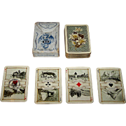 "Dondorf ""Schweitzer Trachten"" (""Swiss Costumes"") Patience Playing Cards, Dondorf No. 189, c. 1906"