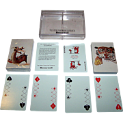 "Double Deck Brown & Bigelow ""Honeywell Computer Binary"" Playing Cards, Variant Nu Vue Courts, Jack Rindner Designs, c.1960s"
