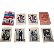 "Ed-U-Cards ""Man from U.N.C.L.E."" Playing Cards, 1965"
