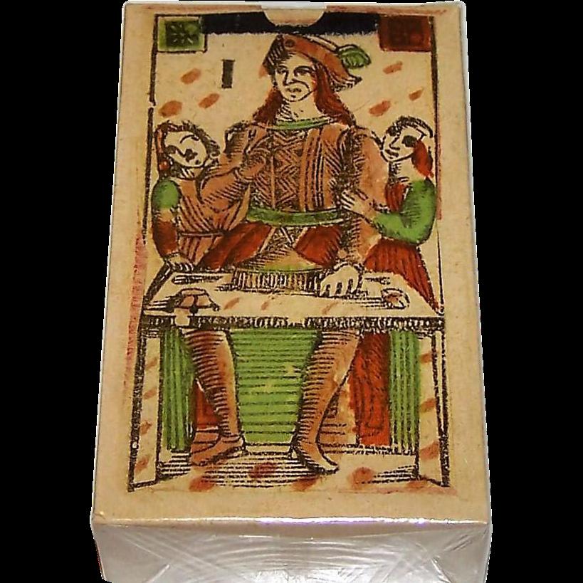 """Edizioni del Prado """"Tarot Florentino Minchiate 'Al Leone'"""" Minchiate Tarot Cards [Facsimile Set of Minchiate Fiorentine, c.1790], c.2004"""