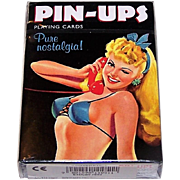 "Piatnik ""Pin-Ups: Pure Nostalgia"" Playing Cards, Bird Playing Cards Publisher"