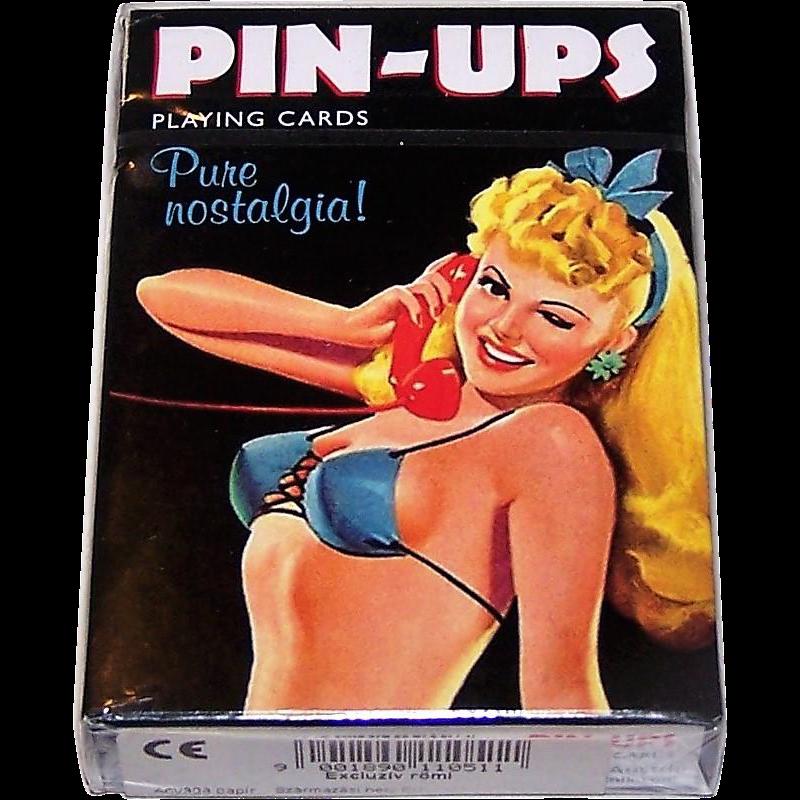 "Piatnik ""Pin-Ups: Pure Nostalgia"" Playing Cards, Bird Playing Cards Publisher"