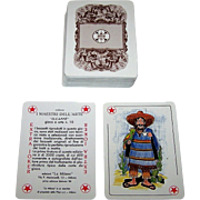 "La Milano ""Il Caffè"" Playing Cards, I Maestri Dell'Arte Series No. 10, Ltd. Ed. ___/3500, 1988"
