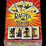 "Fournier ""Rasta"" Playing Cards, New Suits (Marijuana Related), c.2002"