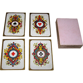 "Daveluy ""Moyen Age"" (""Middle Ages"") Playing Cards, c.1860-1875"
