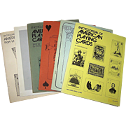 "Hochman, Gene, ""The Encyclopedia of American Playing Cards"" (Complete, 6 Vols.), c.1976-1982"