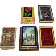 "3 Decks USPC Congress 606 Playing Cards, $15/ea.: ""Vista"" (No Box); ""Mt. Floral"" (Wrong? Box); ""Napoleon"" (Wrong? Box?)"