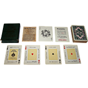 "USPC ""The Nile Fortune Cards"" Fortune Telling Cards, c.1904"