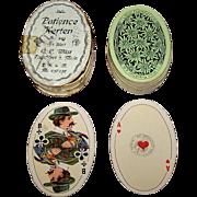 "C.L. Wüst ""Patience Karten No. 240, Oval Shape, c.1913"
