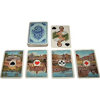 "C.L. Wüst ""Wilhelmina"" Playing Cards, Ascendancy of Queen Wilhelmina, c.1890"