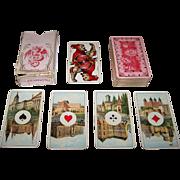 """Dondorf """"Microscopique Tarock"""" Cards, Dondorf No. 245, c.1910"""