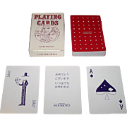 "Nintendo ""Mikimoto"" Playing Cards, c.1972"