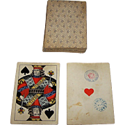 "Titze & Schinkay ""Wiener Bild"" (""Vienna Pattern"") aka ""Large Crown"" Playing Cards, c.1877-1881"