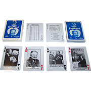 """De Paul University – Ray Meyer Basketball Program"" Playing Cards, Ray Meyer Retirement, Maker Unknown, c.1984"