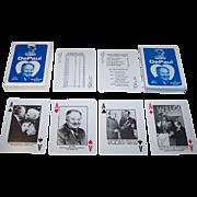 """De Paul University – Ray Meyer Basketball Program"" Playing Cards, Ray Meyer Retirement, Maker Unknown, c.1984"