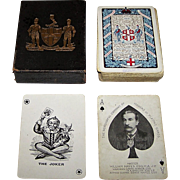 "Worshipful Company (Goodall) Playing Cards, ""Arms of the Company,"" Ltd. Ed. ___/750, c.1918"